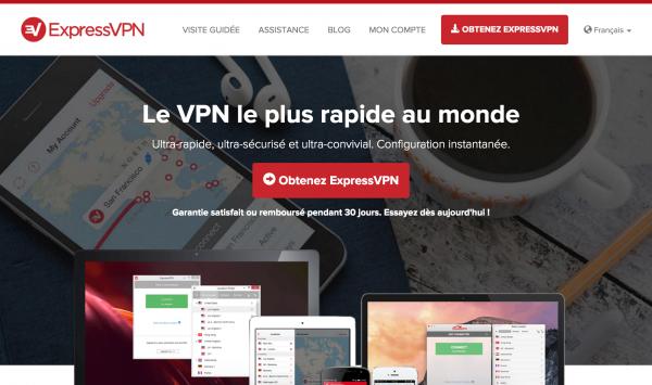 Express VPN rapidité