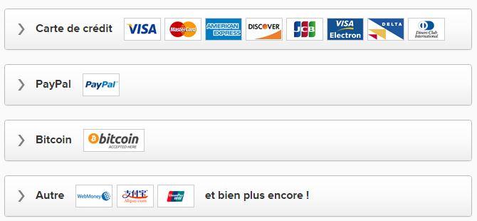 Paiement Express VPN