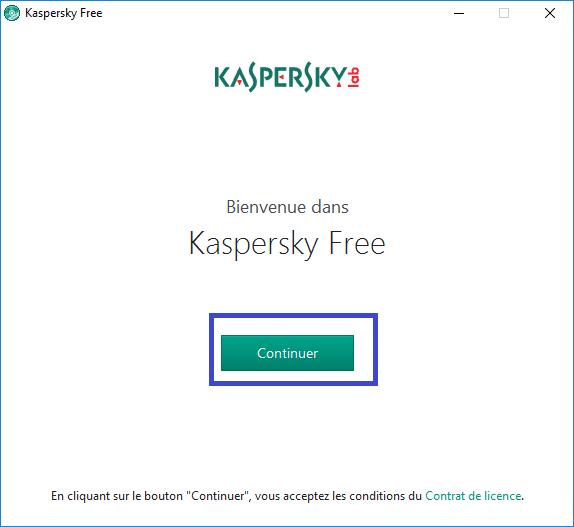 Version gratuite de Kaspersky Antivirus