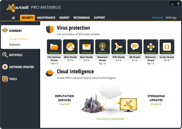 Protéger son ordinateur avec avast antivirus