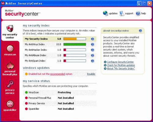 McAfee avis et test de l'antivirus