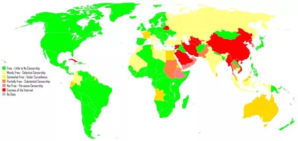 Où est-ce légal d'utiliser un VPN ?