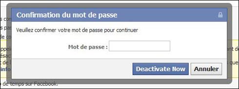 Quelle est la différence entre désactiver et supprimer son compte facebook
