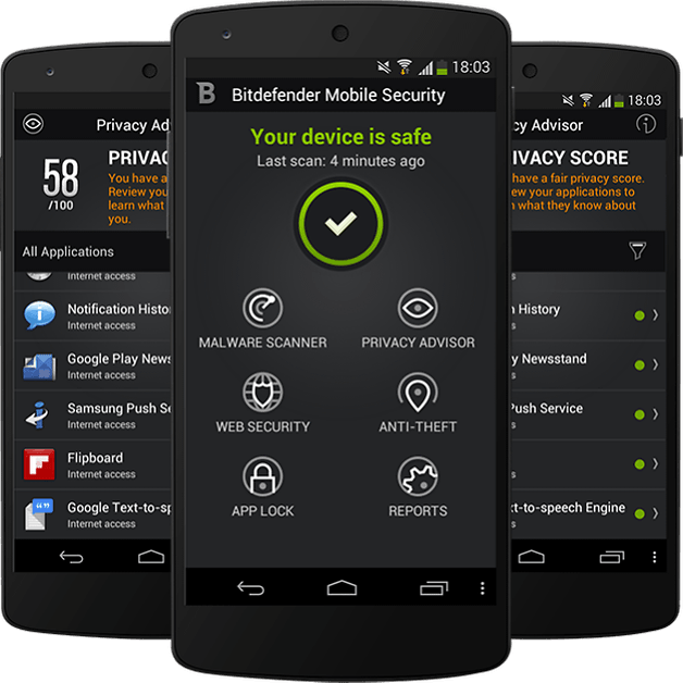 antivirus telephone android gratuit