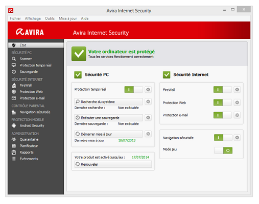 antivirus gratuit top 5 avira