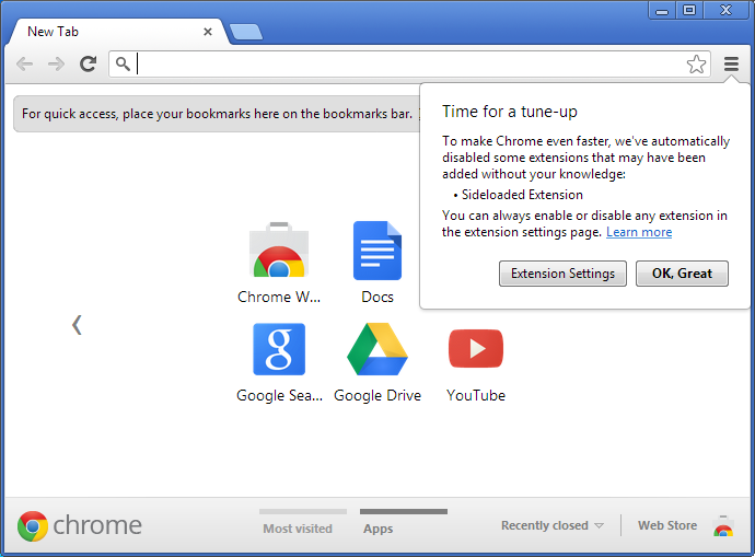 extension antivirus chrome