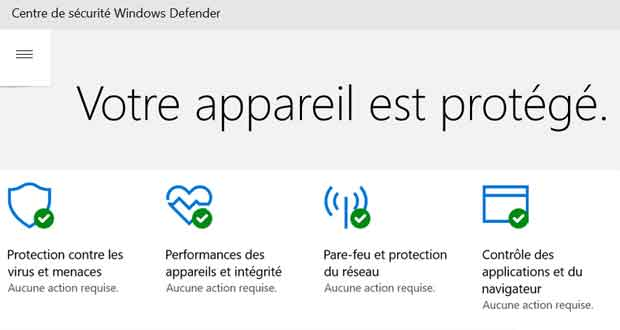 windows defender faux positifs