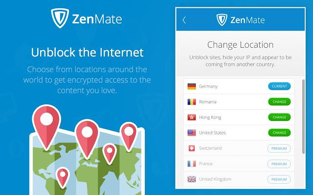 notre opinion sur le VPN zenmate