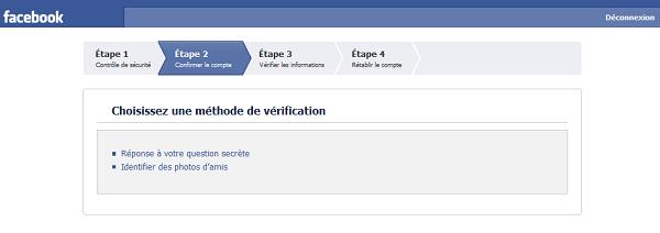 comment protéger son compte facebook