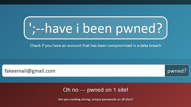 haveibeenpwned piratage vérification