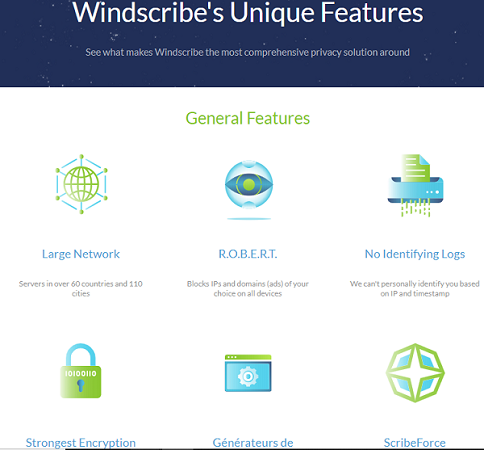 windscribe test VPN